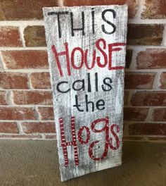 Totally making this!  Hey Rhonda, 2 of my nieces pinned this sign and I know that you want one too!
