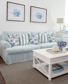 Hamptons Style. Interior Decoration Styling