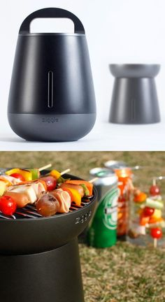 The Ziggle Grill: Portable and Sleek