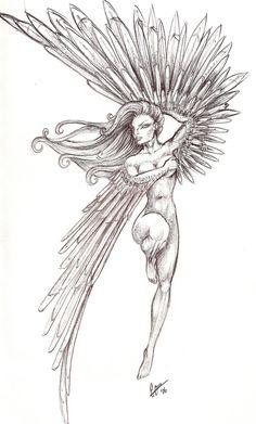 Phoenix Tattoo by MAMACITAred.deviantart.com on @deviantART