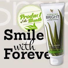 Juni 2015: En frisk mun är en förutsättning för en frisk kropp. Med Forever Bright Toothgel får du de bästa förutsättningarna att hålla tänderna rena och andedräkten frisk. Extra bra för känsligt tandkött och vid blåsor i munnen. Innehåller inte fluor. Passar för hela familjen.