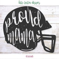 2 Proud Mama svgs  Football Mom svg  by KellyLollarDesigns on Etsy