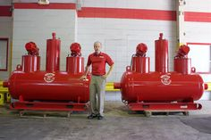 CANNED WELLPOINT PUMPS: Each pump contain two pumps, one primary and one backup.  The pumps can be change to different HP to accommodate the anticipated flow.  This has a much smaller footprint than conventional pumps for areas with limited access.  With this set up, you can remotely set the vacuum unit away from the pumps, thus eliminated any exhaust issues (Terry Aylward of Griffin Pump with two Griffin canned wellpoint pumps on 08.21.2014). For more call 713-671-7000