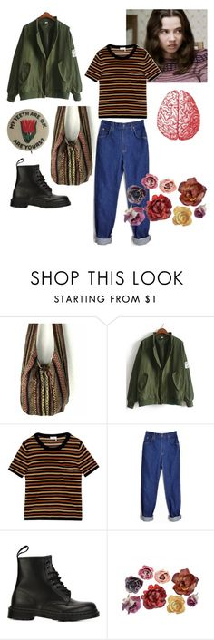 """Lindsay weir (( contest ))"" by angel-bread ❤ liked on Polyvore featuring Sonia Rykiel and Dr. Martens"