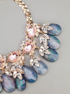 MAWI - Flower gemstone necklace 5