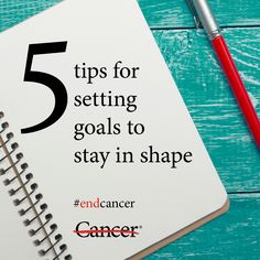 Weight loss, exercise and maintaining a healthy diet can be challenging. But making these healthy changes is possible when you set SMART goals. SMART stands for Specific, Measurable, Attainable, Realistic and Time-bound. Click through to learn more about how each of these goals can help you reach your exercise and weight loss goals. #endcancer