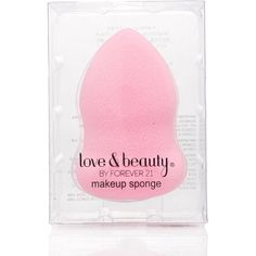 FOREVER 21 Contoured Makeup Blender Sponge ($3.90) ❤ liked on Polyvore featuring beauty products, makeup, makeup tools, light pink, liquid foundation makeup, forever 21, forever 21 cosmetics and forever 21 makeup