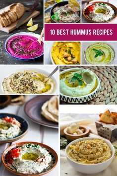 If you're a hummus lover just like me but you're starting to get bored with the classic hummus recipe, then this article is for you. If you haven't had hummus before in your life, then I urge you to run to the kitchen and prepare at least one of these 10 amazing hummus recipes! All of them are super easy, fast and delicious. #hummus #vegan #veganrecipes #veganrecipe #appetizer