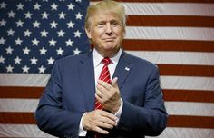 US President Donald Trump congratulates new Democrats chairman in a sublime way