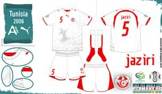 Tunisia - Home Jersey (2006)