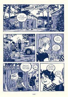 Read an exclusive excerpt from Jillian and Mariko Tamaki& gorgeous new graphic novel. Cartoon Kunst, Comic Kunst, Cartoon Art, Comic Book Layout, Comic Books Art, Storyboard, Frank Miller Comics, Wie Zeichnet Man Manga, Graphic Novel Art