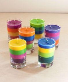 DIY Crayon Candles | The Evermine Blog | www.evermine.com