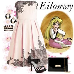 Eilonwy by violetvd on Polyvore featuring Ted Baker and Wet Seal