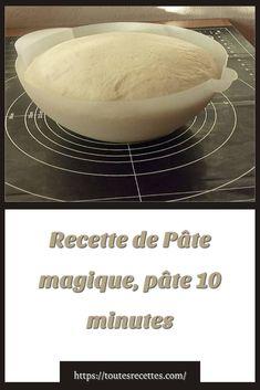Recette de Pâte magique, pâte 10 minutes – Toutes recettes Beignets, Pain, Bread, Dishes, Cooking Recipes, Skinny Kitchen, Plate, Fritters