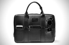 793261b4b88 Killspencer Attache Briefcase Best Work Bag, Briefcase For Men, Black  Leather Briefcase, Black