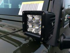 Chrysler Dodge Jeep Ram of Willoughby Wrangler Unlimited Sport, 2016 Jeep Wrangler, Bar Led, Chrysler Dodge Jeep, Jeep Accessories, Led Flood Lights, Fender Flares, Led Light Bars, Jeep Stuff
