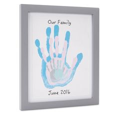 Mothers Day Crafts For Kids Discover Pearhead Family Handprints Frame Diy Keepsake Kit Gray Toddler Art, Toddler Crafts, Infant Crafts, Easter Crafts, Holiday Crafts, Baby Christmas Crafts, Family Hand Prints, Baby Footprint Art, Mothers Day Crafts For Kids