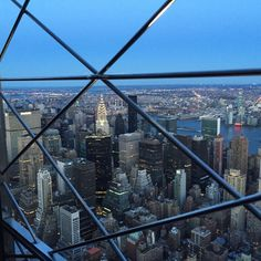 86th floor of the Empire State Building