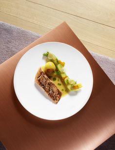 Le Saumon et le citron - Domaine des Etangs #France #gastronomie #saumon #salmon #citron #lemon