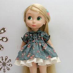 Disney Baby doll clothes dress clothing retro flower collection Princess 16 DR04 #HappyJinny