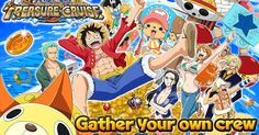 I think that title is enough to get fans of One Piece excited. After a lot of demand, Bandai Namco have now brought One Piece: Treasure Cruise outside of Japan and to the iOS and Android marketplace (but don't forgot about the other offering this year). Game 4, Game Item, One Piece Games, Android One, Free Android, English Games, Creative Class, Tips & Tricks, Anime Manga