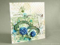 Kartka - Mixed Media - card | Drycha - mixedmedia - craft - handmade