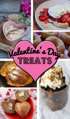 In case a baking cooking Valentine's Day is on your list ~ Great round up of Valentine's-day-treats