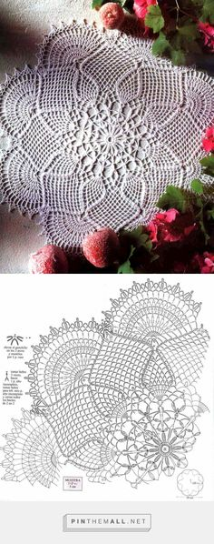 - сгруппированы изображения картина - Pin Them All Filet Crochet, Crochet Doily Diagram, Crochet Doily Patterns, Tatting Patterns, Crochet Chart, Crochet Motif, Crochet Books, Crochet Home, Thread Crochet