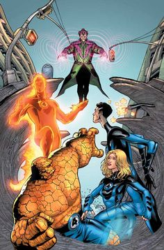 Fantastic Four vs. Molecule Man
