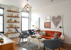 #GrahamHill2016 - Retro Living Room Ideas