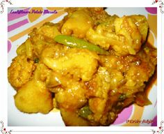 Cauliflower Potato Masala ~ In Kerala Style ~ Cuisine delights