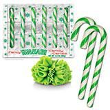 On Christmas Eve, Santa Pickle gets into his barrel and rolls around the world delivering pickled vegetables to all the good boys and girls. That's right, it's Santa Pickle! In the spirit of his briny generosity, we present our dill-flavored Pickle Candy Canes. They are a beautiful Christmas green color that pairs perfectly on your tree next to the regular red candy canes. Or, even better, next to our Bacon Candy Canes! Not into red and green? Try our Hanukkah Candy Canes. If you have…