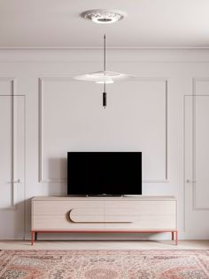Design inspiration from Vibia and Interior Design Firm DKOR Interiors in Miami. Futuristisches Design, Interior Design, Sofa Design, Living Room Tv, Living Spaces, Home Furniture, Furniture Design, Wall Molding, Bedroom Green