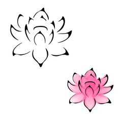 A lot of people have lotus flowers but I love them still. This one is especially nice and simple.