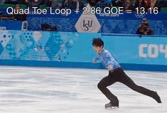 FEB 14, 2014 8:22AM ET / 2014 WINTER OLYMPICS SOCHI How Yuzuru Hanyu Destroyed the Olympic Men's Figure Skating Competition, in GIFs
