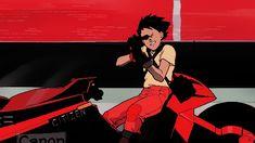 rhade-zapan: Gif from Akira Cyberpunk Anime, Arte Cyberpunk, Aesthetic Drawing, Aesthetic Gif, Akira Film, Geisha, Akira Manga, Katsuhiro Otomo, Neo Tokyo