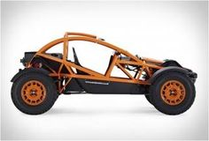 The same guys behind the spectacular Ariel Atom high-performance supercar, have introduced, the outrageously fun-looking, Nomad. The two-seat rugged off-roader is powered by a Honda four-cylinder iVTEC engine, delivering an impressive 235 h Ariel Atom, Go Kart Buggy, Off Road Buggy, Triumph Motorcycles, Carros Off Road, Ariel Nomad, Kart Cross, Homemade Go Kart, Ducati