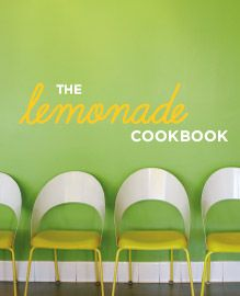 The Lemonade Cookbook designed by Sowins Design for St. Martin's Press. This cookbook was designed for the Lemonade Restaurants in Southern California. The book features recipes from the establishment. Design is modern and fresh.