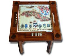 Wood Domino Table MBR
