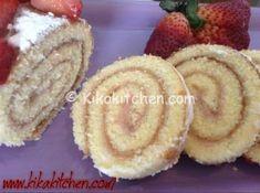 Il rotolo con crema alla fragola bimby è un dolce primaverile fresco e genuino. Una semplice pasta biscotto farcita con crema alle fragole.