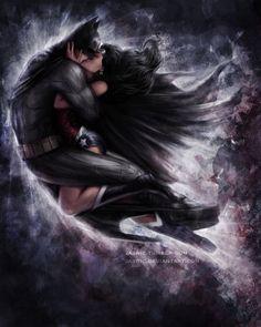 Batman & Wonder Woman by Jasric