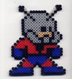 Ant-Man perler beads by Raurus