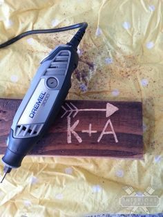 How To Etch Wood With A Dremel