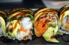 Caterpillar RollsSoosh Japanese Restaurant in Stamford CT -