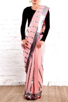 Baby Pink Sari