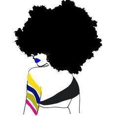 black natural hair art - Google Search