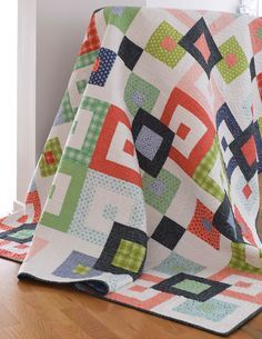 Bailey Quilt Pattern - She Quilts A Lot Fat Quarter Friendly
