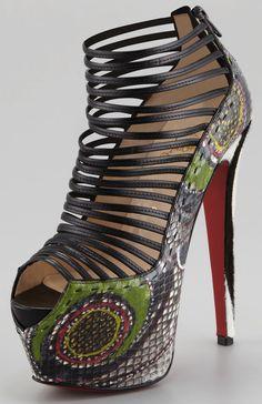 "Christian Louboutin ""Zoulou"" Platform Sandals"
