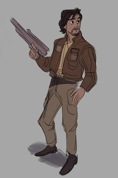 Cassian Andor, Rogue One by willow-s-linda on Tumblr