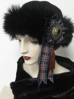 Scottish Dragoon Hat w/ Brooch